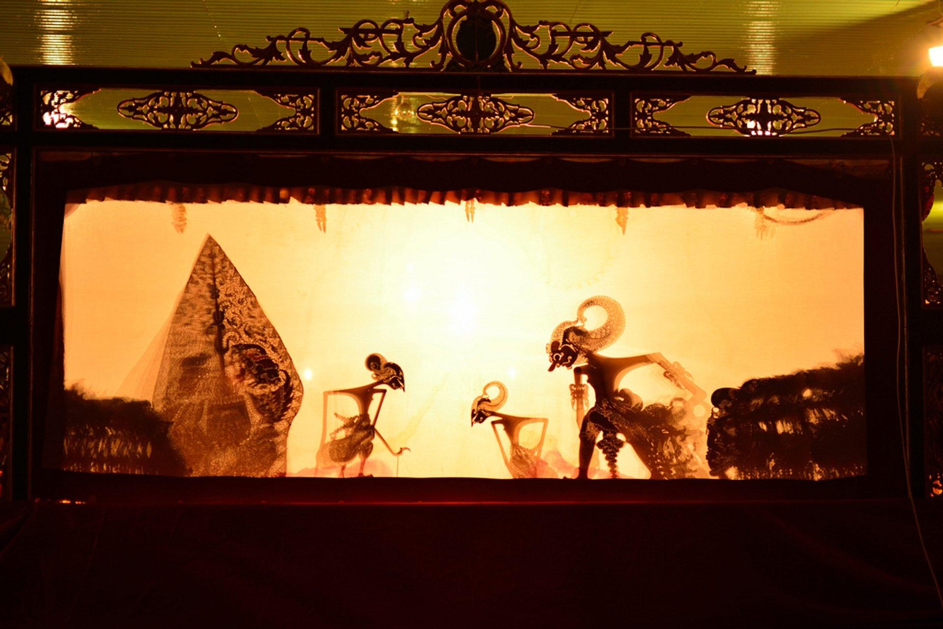 Indonesia Wayang Kulit Puppet Theatre Metrum